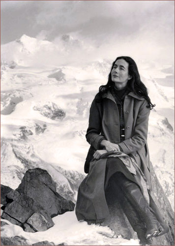 photo of Catherine Schuon in the High Alps
