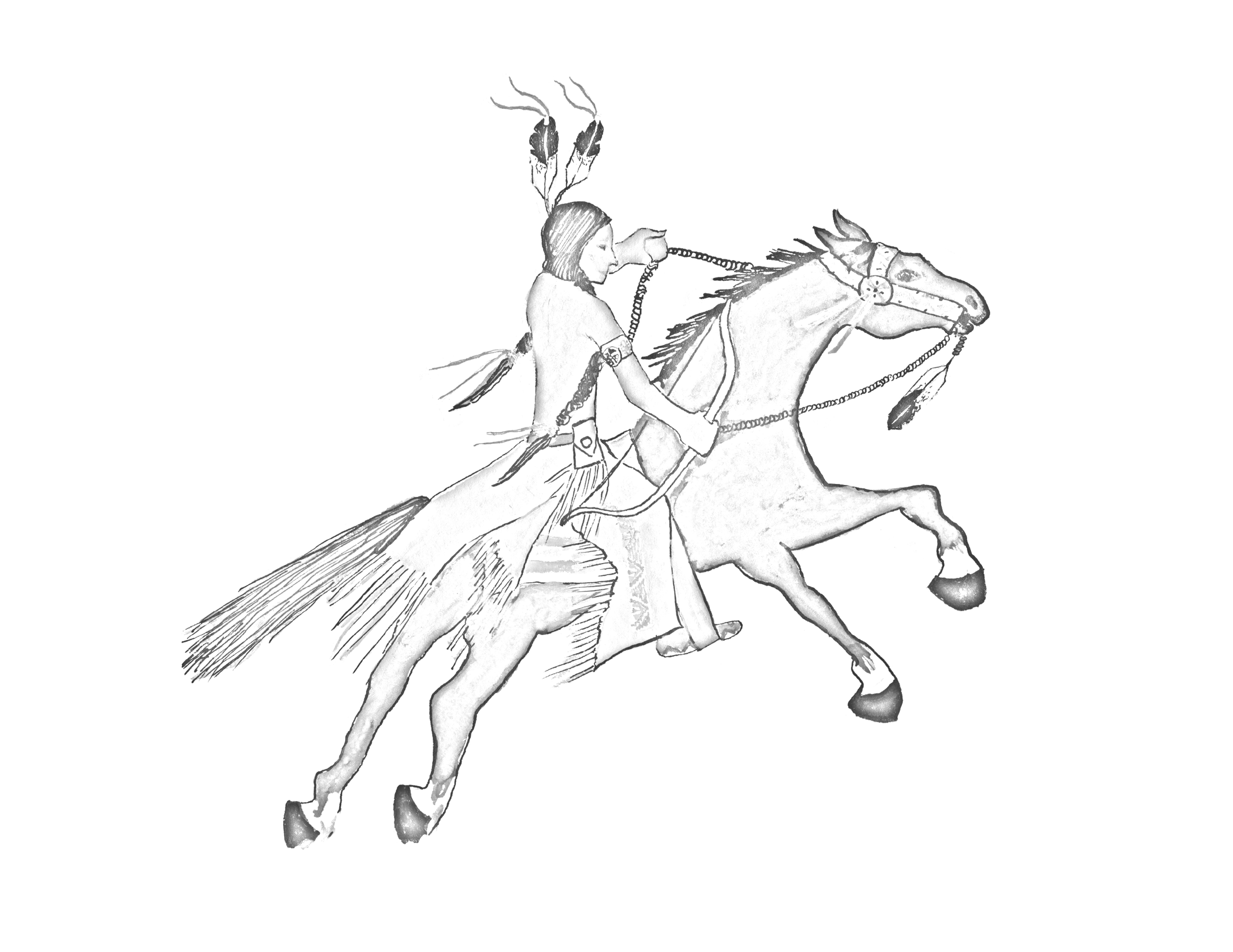 sioux coloring pages - photo#37