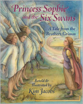 cover of Princess Sophie and the Six Swans