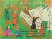cover of Story of the Mongolian Tent House