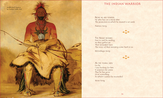 "Another sample spread from the book ""Spirit of the Indian Warrior"", by Michael Fitzgerald and Joseph Fitzgerald"